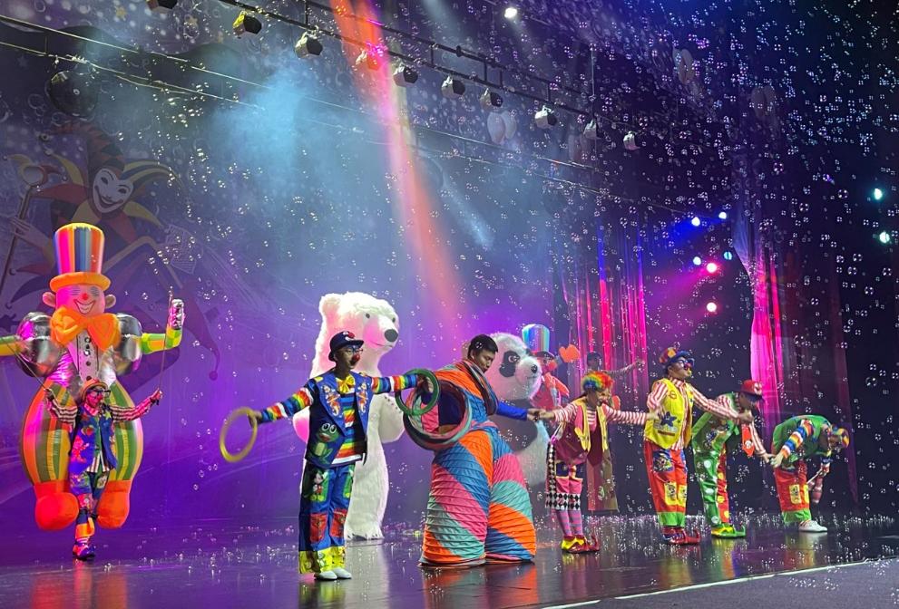 【启东站】大型杂技互动儿童剧《滑稽小丑嘉年华》