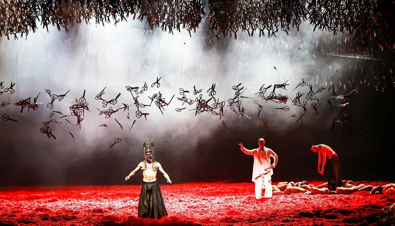 杨丽萍作品 舞蹈剧场《十面埋伏》